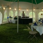 business tent