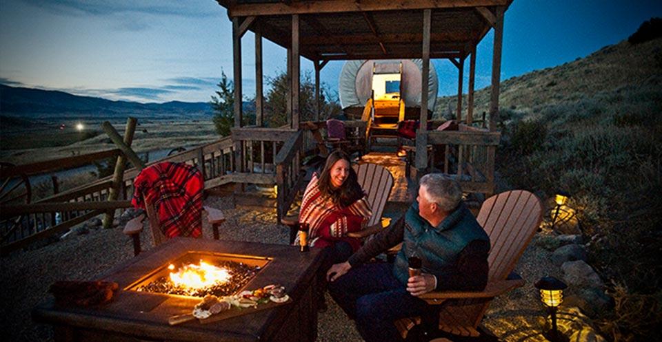 Cowboy Camp At Chico Hot Springs
