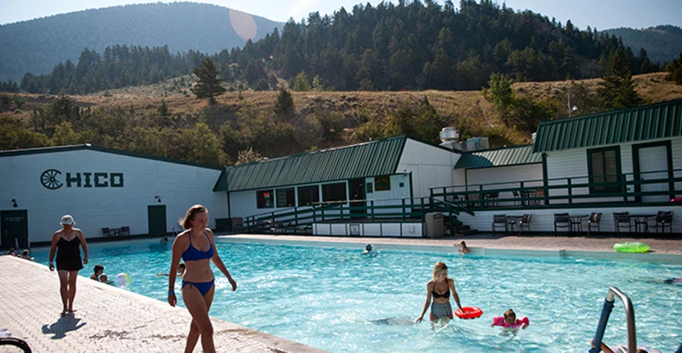 Hot Springs At Chico Hot Springs | Hotsprings in Montana